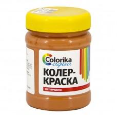 """Колер-краска """"Colorika aqua"""" охра красная 0,3 кг"""