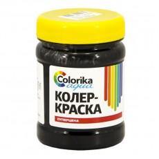 """Колер-краска """"Colorika aqua"""" черная 0,3 кг"""