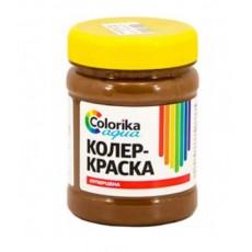 """Колер-краска """"Colorika aqua"""" коричневая 0,3 кг"""