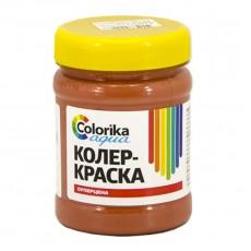 """Колер-краска """"Colorika aqua"""" красно-коричневая 0,3 кг"""