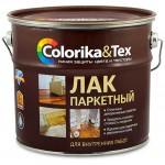 """Лак паркетный алкидно-уретановый """"Colorika&Tex"""" полуматовый 2,7 л"""