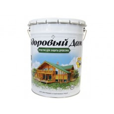 Деревозащитное средство Здоровый Дом Махагон 20 л