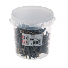 Дюбель-гвоздь 6х40 грибовидная манжета (полипропилен) (150 шт) - ведро Tech-Krep 101989