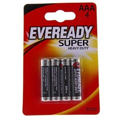 Батарейки EVEREADY SUPER HD AAА/4 шт