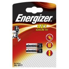 Батарейки ENERGIZER Alkaline A27 /2шт/