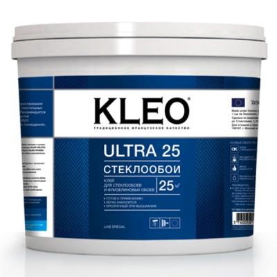 KLEO ULTRA клей для стеклообоев, ведро 5кг/25м2