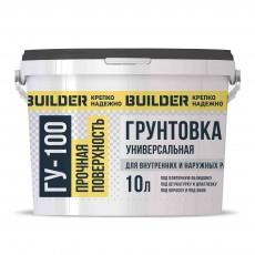 Грунт универсальный BUILDER ГУ-100 10л (ведро)