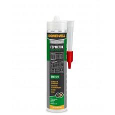 Герметик силиконовый DONEWELL сантехнический белый 260 мл