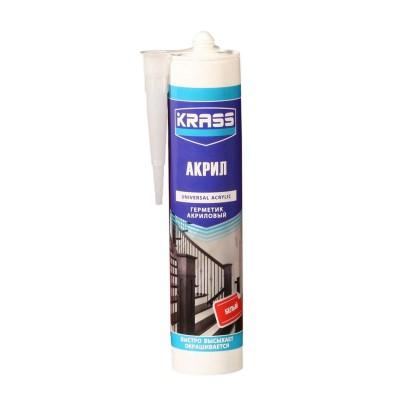 Герметик KRASS акриловый белый 300 мл