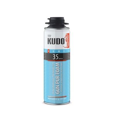 Пена монтажная KUDO HOME 35 профессиональная, всесезонная 650 мл