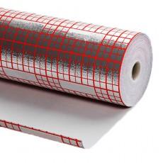 Подложка для теплого пола ROMMER 3 мм, длина 25 м, (30 м2 рулон)
