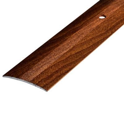 Порог А5-37мм алюминиевый Дуб престиж №12 длина 0,9м