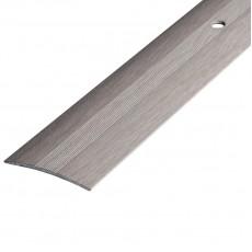 Порог А5-37мм алюминиевый Ясень белый №106 длина 0,9 м