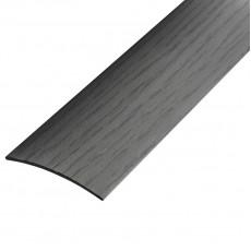 Порог В4-41мм алюминиевый  Ольха серая №102 длина 0,9,скрытый крепеж