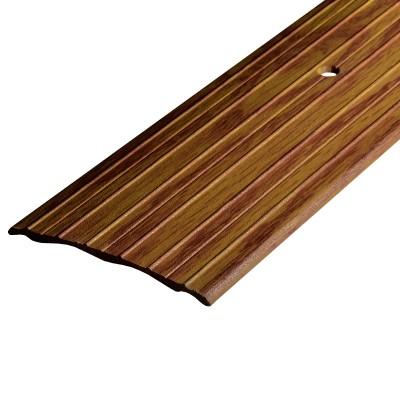 Порог А60-60мм алюминиевый декор цвет Дуб универсальный №084 1,8 м