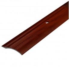 Порог С4 39,4мм алюминиевый р/ур. декор Вишня №092 длина 0,9м