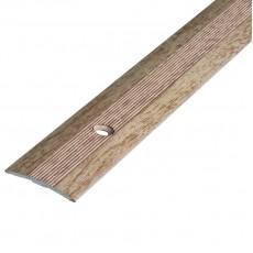 Порог АЛ-163 стык/упак/дуб выбеленный 1,35 м
