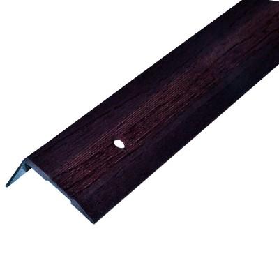 Порог АЛ-267 угол/упак/венге 1,0 м