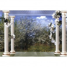 Декоративное панно Яблони в цвету 294х201 (9 листов)