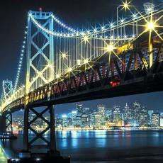 Декоративное панно  VIP Бруклинский мост 294х260 (12л)