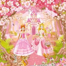 Декоративное панно VIP Принцессы 294х260 (12л)