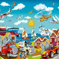 Декоративное панно VIP Детский городок 294х260 (12л)
