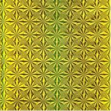 Пленка самоклеящаяся COLOR DECOR 0,45х8м Золотая Голография 1016