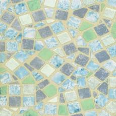 Пленка самоклеящаяся COLOR DECOR 0,675х8м Голубая Мозайка 8321
