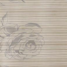 Пленка самоклеящаяся COLOR DECOR 0,45х8м Серебряные розы на белом фоне 8597А