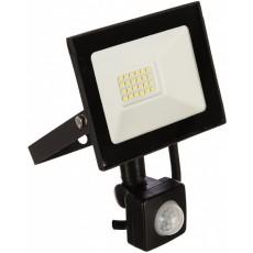 Прожектор светодиодный с выносным датчиком 2835SMD, 20W 6400K AC220V/50Hz IP65, черный SFL80-20