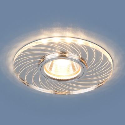 Светильник встраиваемый 2203 MR16 CL прозрачный (5 лет гарантия)