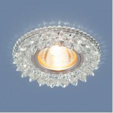 Светильник встраиваемый 2212 MR16  CL прозрачный (5 лет гарантия)