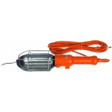 Светильник-переноска LUX ПР-60-15 оранжевый 15м 60W Е27 металлический кожух (без лампы)