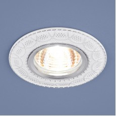 Светильник точечный 7010 MR16 WH/SL белый/серебро