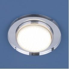 Светильник точечный 8061 GX53 SL зеркальный/серебро