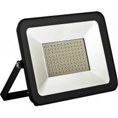Прожектор светодиодный 30W 2835SMD, 4000K AC220V/50Hz IP65, черный в компактном корпусе, S-Экономь