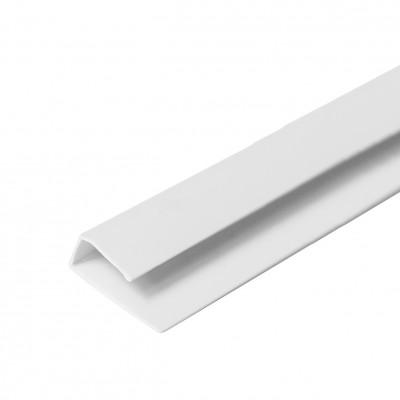 L-профиль (стартовый) 10 мм белый ПВХ 3м АПЛАСТ/Кострома (50 шт)