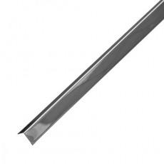Уголок пристенный Албес PL19*24 (супер-хром) 3м/100