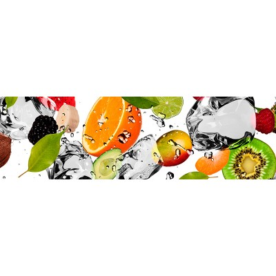 Кухонный фартук  (199) 600*2000*1,5 мм фрукты