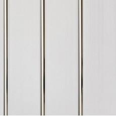 Панель ПВХ Кронопласт 3-х секционная серебро 3000х240х8 мм