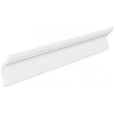 Плинтус потолочный Р-02-белый