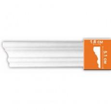 Молдинг гладкий  DECOMASTER 97164 (51*16*2400 мм)