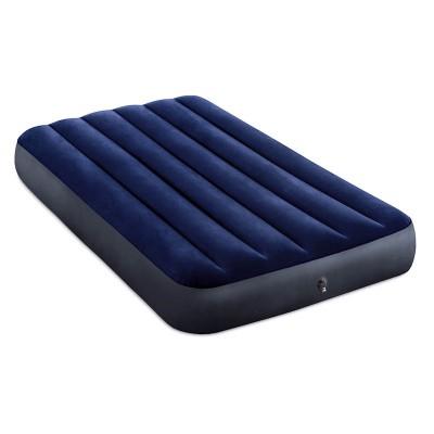 Кровать надувная Твин Classic downy (Fiber tech), 99см x 1,91м x 25см, 64757 INTEX