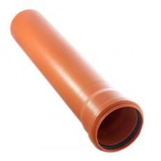 Труба НПВХ D 160х4,0 длина 2м