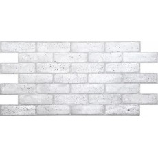 Панель ПВХ кирпич Ретро серый 0,4 мм