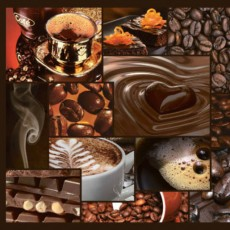 Панель ПВХ мозаика Аромат кофе 955х480х3 мм