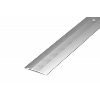 Порог А5-37мм алюминиевый анодированный Серебро (НЕ) длина 0,9м