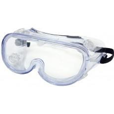 Очки защитные с не прямой вентиляцией прозрачные