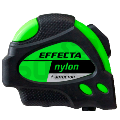"""Рулетка 7,5м*25мм """"Effecta"""" Basic (с магнитом, боковые зацепы)"""