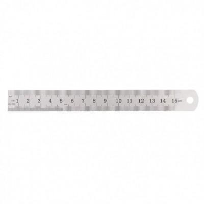 Линейка измерительная, 150 мм, металлическая// SPARTA 305045